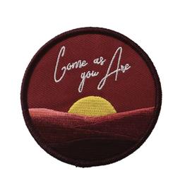 Come As You Are Embroidered Patch by Retrograde Supply Co