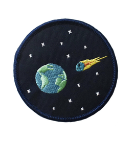 End of the World Embroidered Patch by Retrograde Supply Co