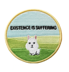 Existence is Suffering Embroidered Patch by Retrograde Supply Co