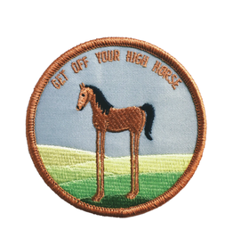 High Horse Embroidered Patch by Retrograde Supply Co
