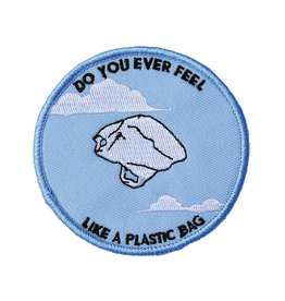 Plastic Bag Embroidered Patch by Retrograde Supply Co
