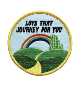 Love That Journey Embroidered Patch by Retrograde Supply Co