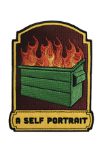 A Self Portrait Embroidered Patch by Retrograde Supply Co
