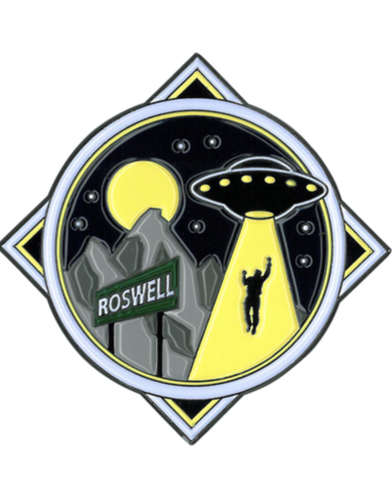 Roswell Alien Large Enamel Pin