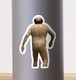 Naked Danny Devito Sticker