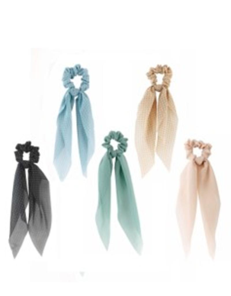Jackie Fashion Hair scrunchy ribbon