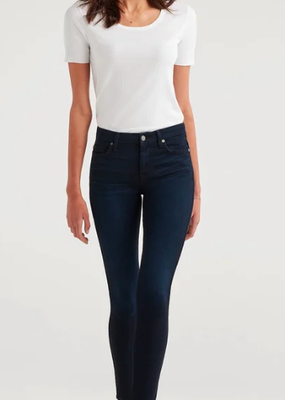 7 For All Mankind Blaire High Waist skinny