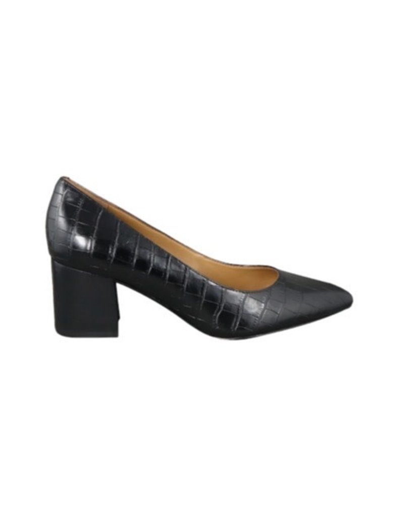 Nine West Nine West TVES3 Croc Block heel shoe