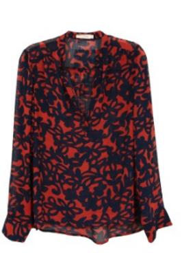 See U Soon See u soon Pattern blouse
