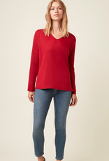 Great Plains Great Plains auth knit v-neck jumer