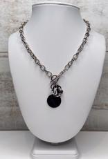 Merx Merx chain necklace with medallion