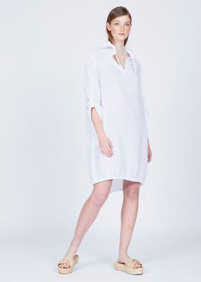 Pistache Linen Hoodie dress