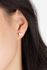 JJ & RR JJ & RR heart stud earrings