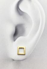 JJ & RR JJ+RR Open Square Earring