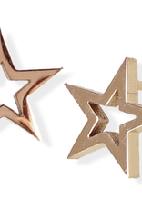 JJ & RR JJ+RR Open Star Earrings