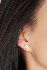 JJ & RR JJ+RR Palm Tree Earring