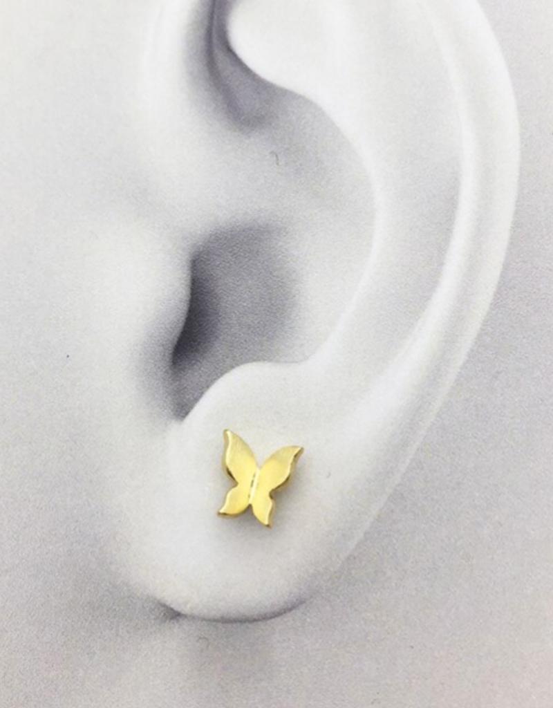 JJ & RR JJ+RR Folded Butterfly Earrings