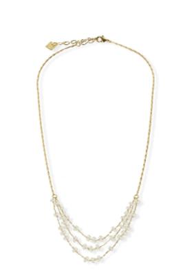 JJ & RR JJ+RR Harper in Crystal & Gold Necklace