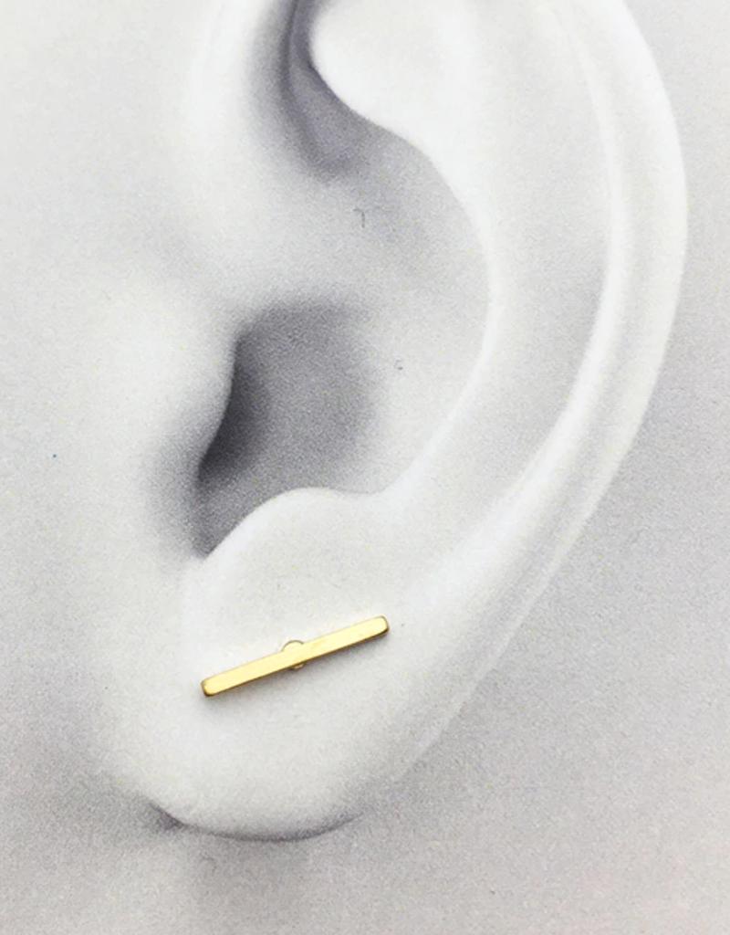 JJ & RR JJ+RR Bar Earrings
