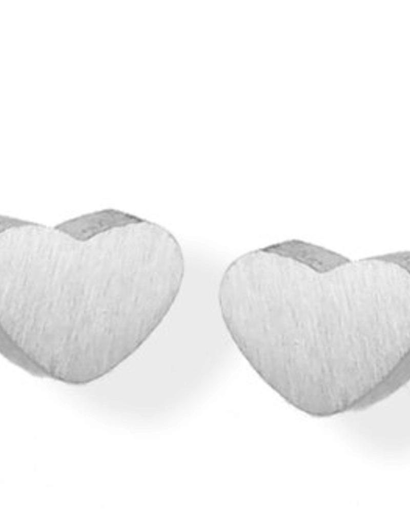 JJ+RR JJ+RR Heart Stud Earring
