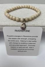 Soul of a Gypsy Soul of a Gypsy semi precious stone elastic bracelet