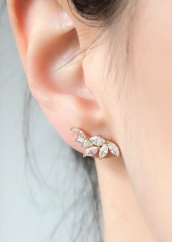 Statement Grey Statement Grey Angel Marquise Earrings