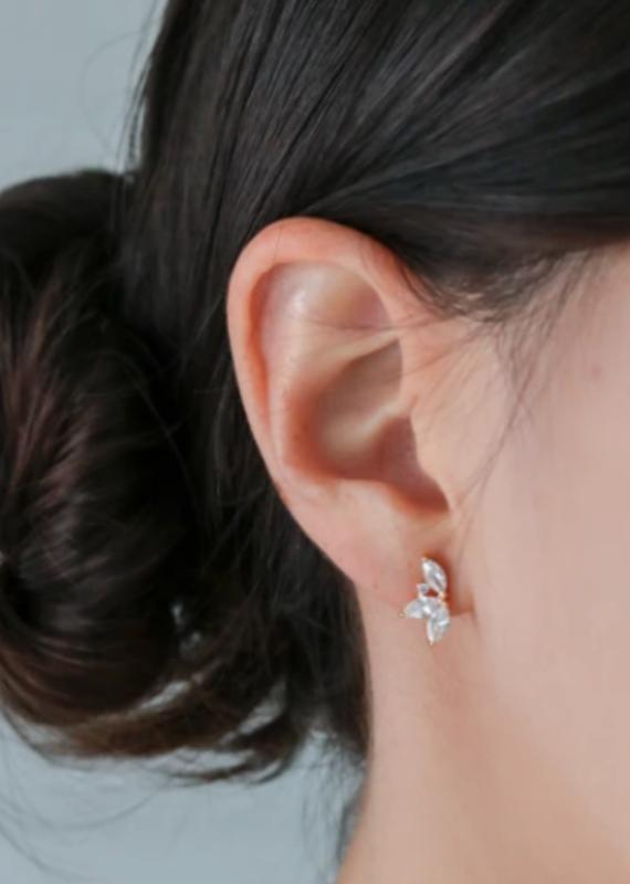 Statement Grey Statement Grey Delle Earring