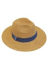 Facinie Facinie Heathered straw Panama hat