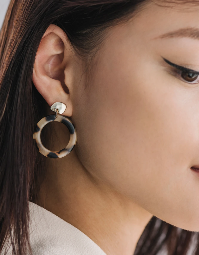 Lover's Tempo Lover's Tempo Odessa Hoop Earrings