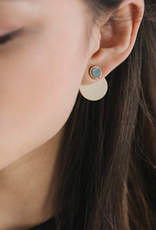Lover's Tempo Lover's Tempo Disc-O Jacket Post Earrings
