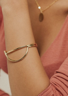 Lover's Tempo Half Moon Bangle