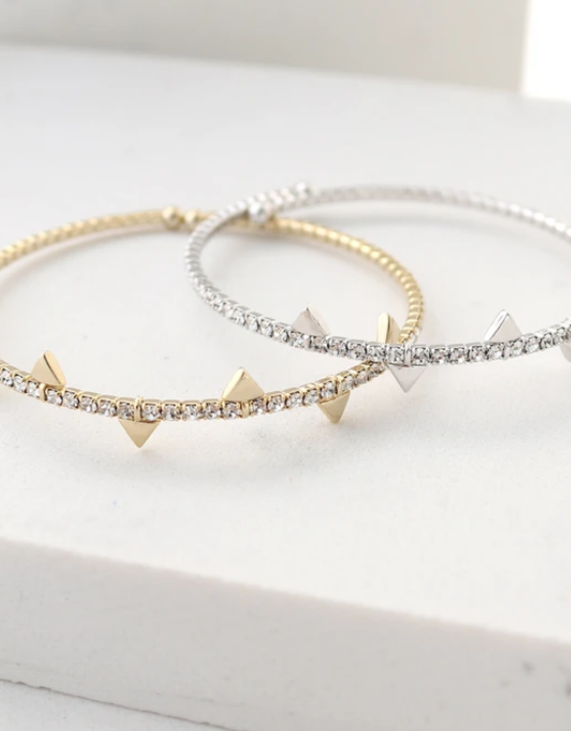 Lover's Tempo Lover's Tempo On Point Crystal Bangle