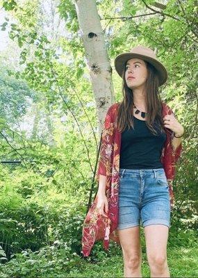 Halina Shearman Kimono