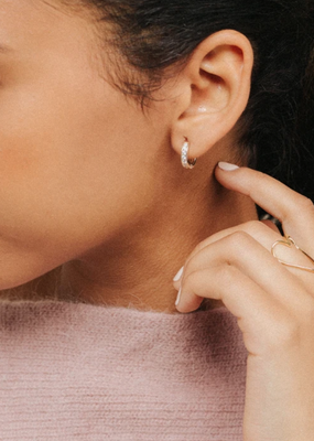 Lover's Temp Desi Hoop Earrings