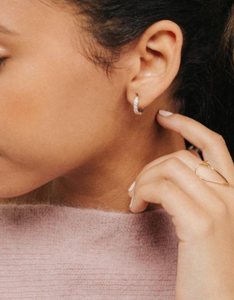 Lover's Tempo Lover's Tempo Desi Hoop Earrings