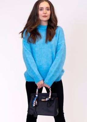 Lyla & Luxe Sea crew neck sweater