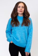 Lyla & Luxe Lyla Sea crew neck sweater
