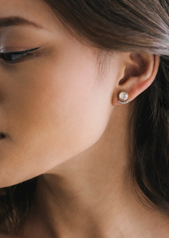 Lover's Temp Mimosa Post Earrings