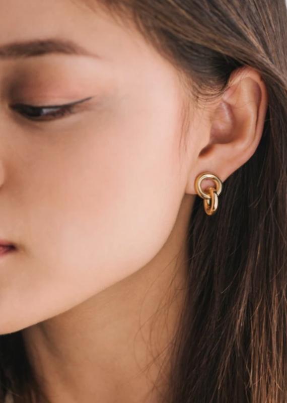 Lover's Temp Links Earrings