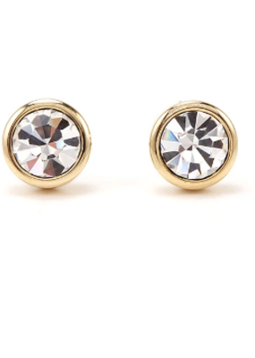 Lover's Temp Swarovski Stud Earrings