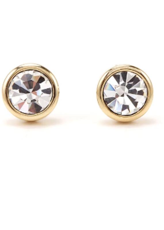 Lover's Temp Swarovski Stud Earrings