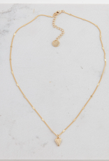 Lover's Temp Lover's Tempo Everly Heart Necklace