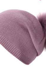 PNYC PNYC Evelyn Slouch Beanie Matching Fur
