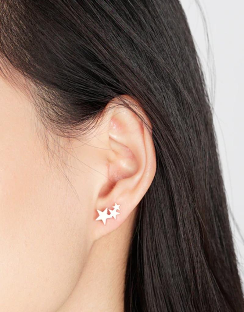 JJ+RR JJ+RR Triple Star Earring