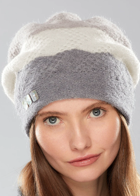 Olena Striped Doppelzagger hat II