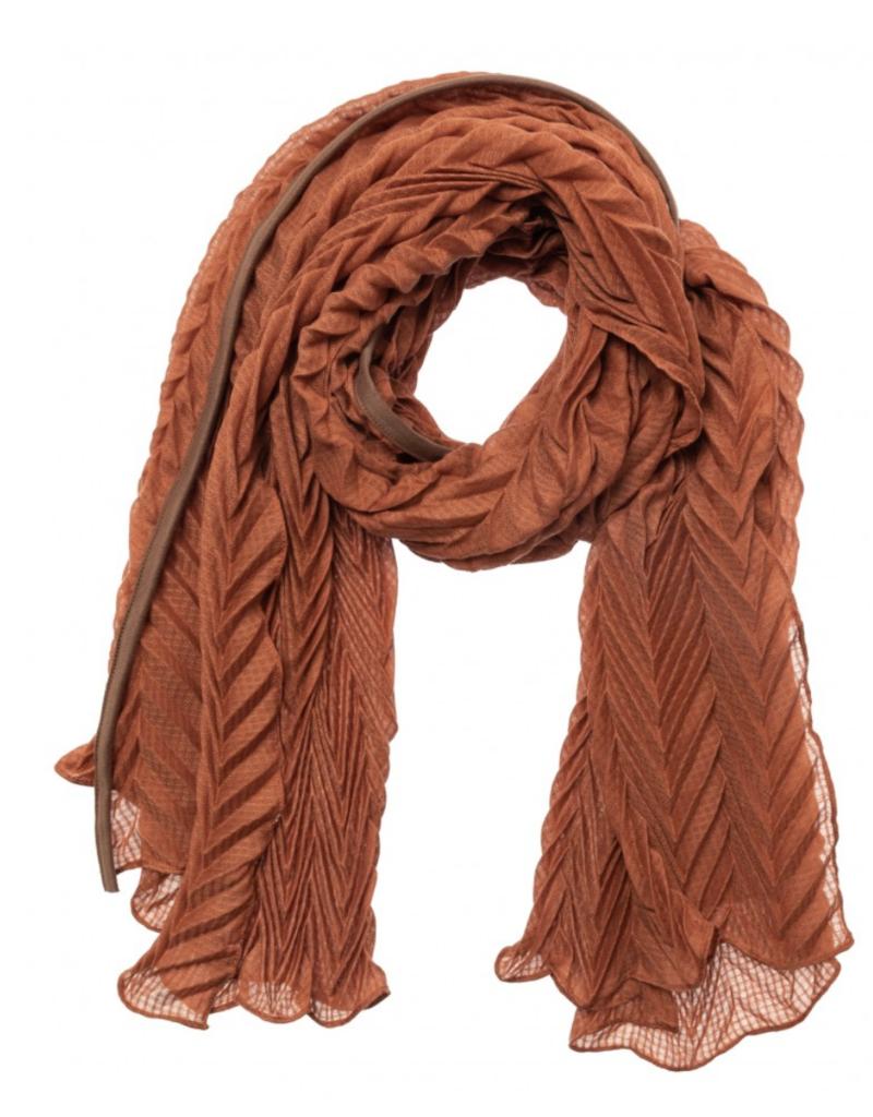 YaYa Yaya Pleated scarf