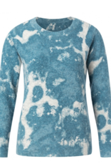 YaYa Yaya Round neck print sweater