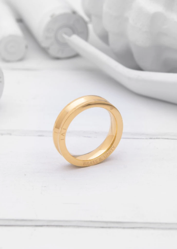 Brass & Unity Unity Ring