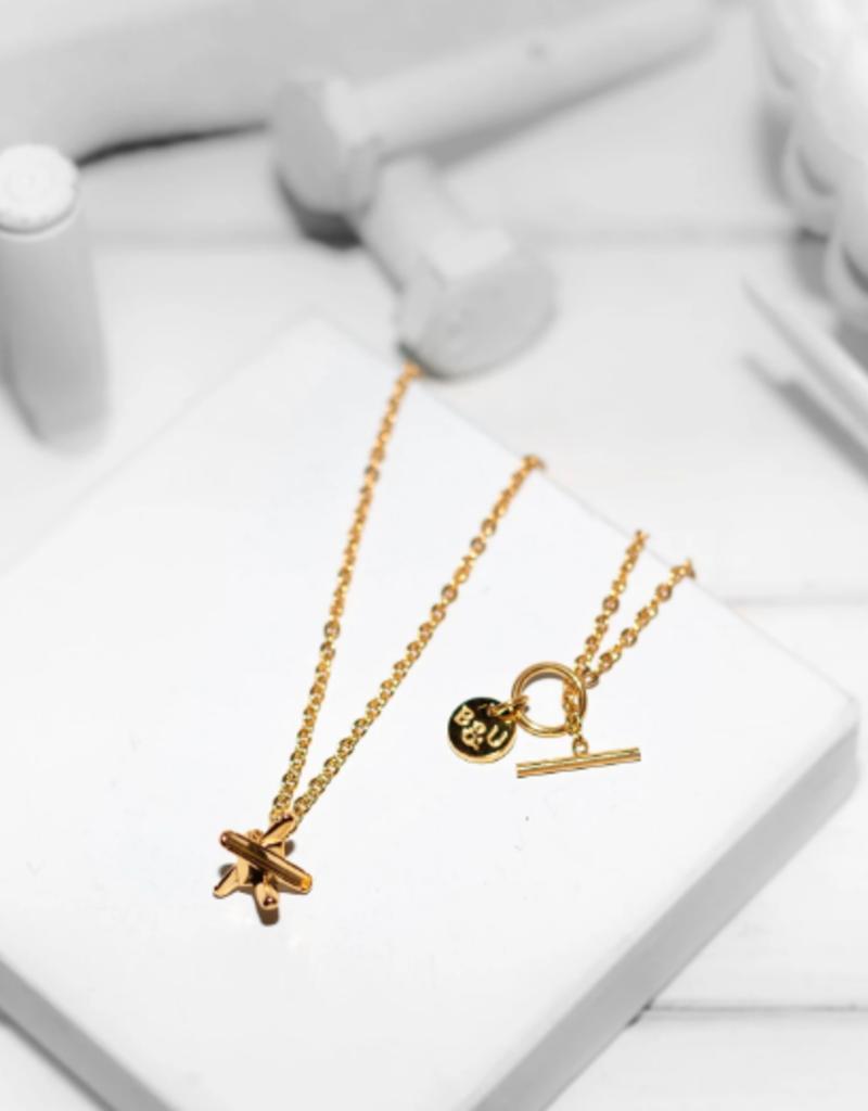 Brass & Unity Brass & Unity Mini Hedgehog Necklace