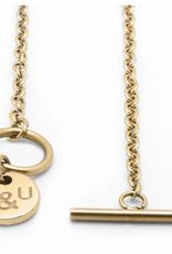 Brass & Unity Brass & Unity Mini 2D Necklace